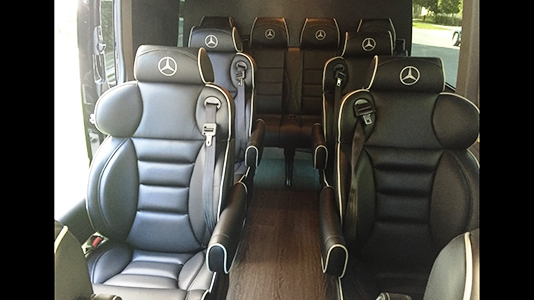 Fleet: Mercedes Konfer Interior