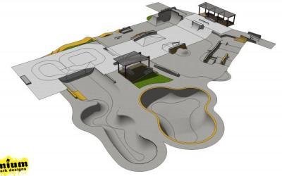 Wanaka Skate Park Extension