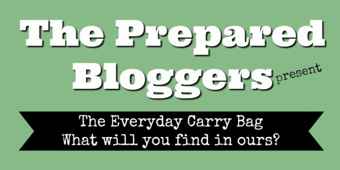 The Prepared Bloggers present - Everyday Carry Bag. What will you find in ours? Duct Tape EDC
