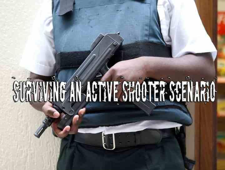 Surviving an active shooter scenario