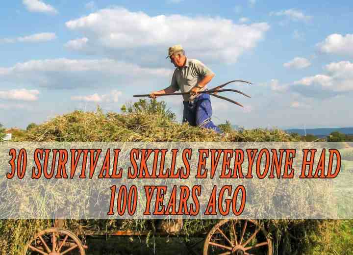 30 Survival Skills Everyone Had 50 Years Ago