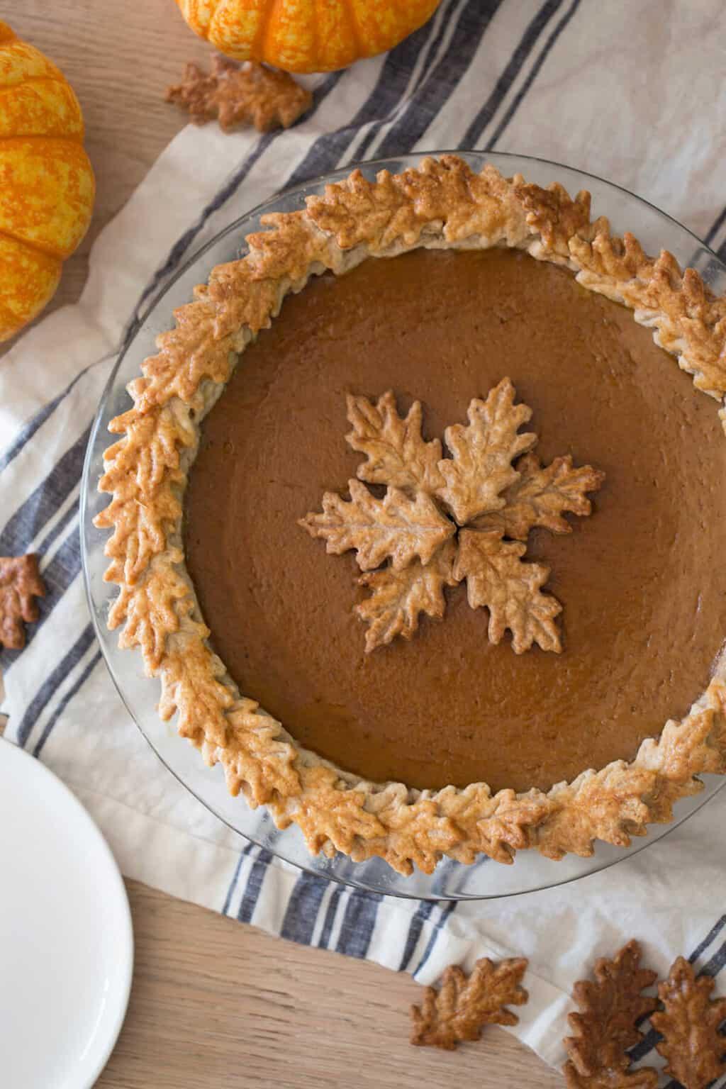 Fullsize Of Pumpkin Pie Cake