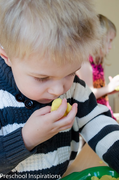Lemonade Scented Playdough by Preschool Inspirations-3