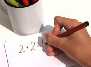Preschool adding and subtracting math activities for teaching preschoolers.