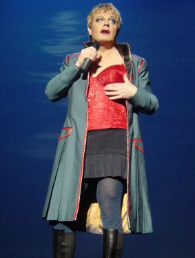 Eddie Izzard on tour in 2003