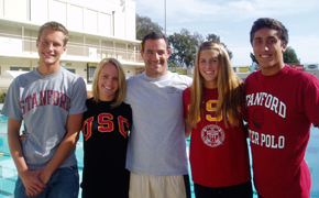Four Dons go to pools in Pac-10