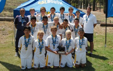 SBSC U-14 White bring home National Cup title