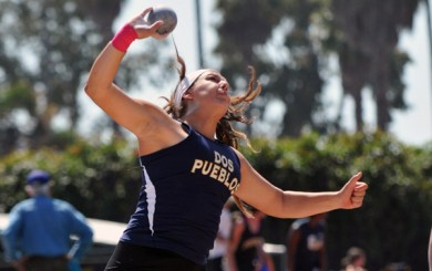 DP's Scarvelis 3-peats as state champion in shot put, wins discus