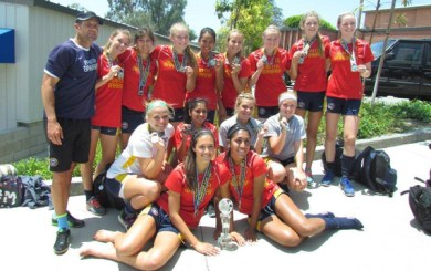 SBSC's U17 girls win huge Memorial Challenge Cup