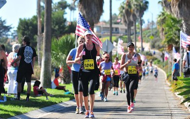 10 Things to Know about Santa Barbara's Veterans Day Half-Marathon