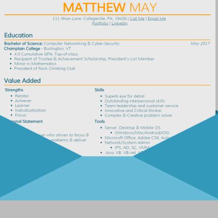 Web-Based Resume