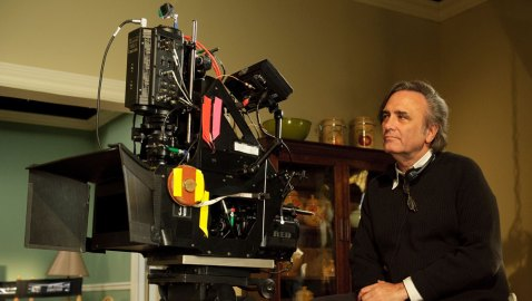 Joe Dante am Set