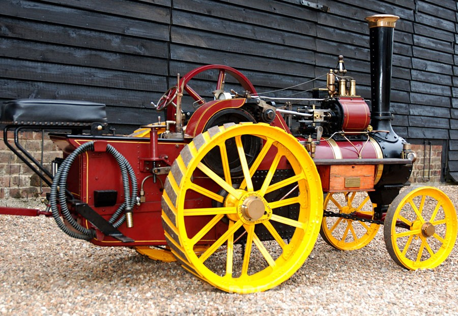 4½ Inch Scale BURREL Traction Engine