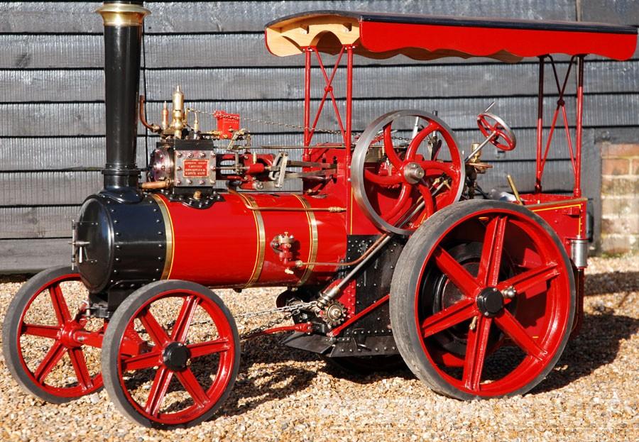 "4 Inch Scale SAVAGE ""Little Samson"" Steam Tractor"