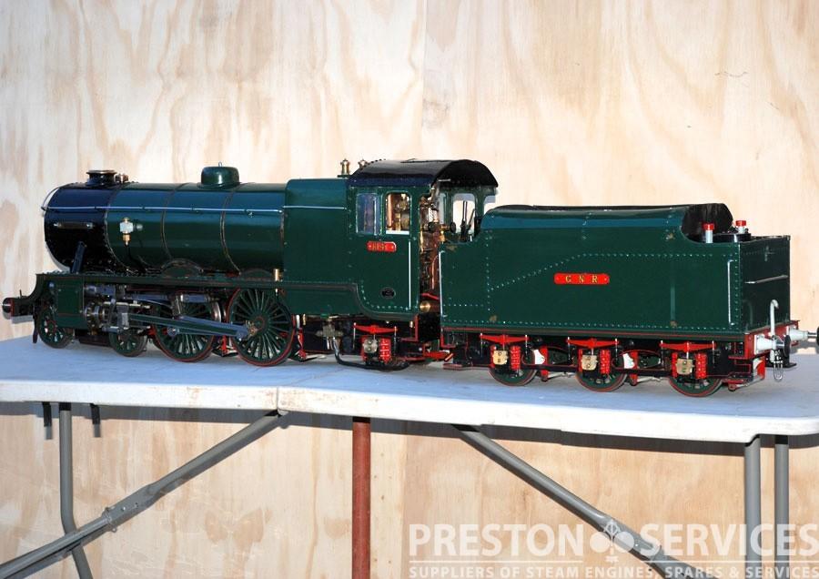 5 Inch Gauge GNR 4-4-2 Tender Locomotive