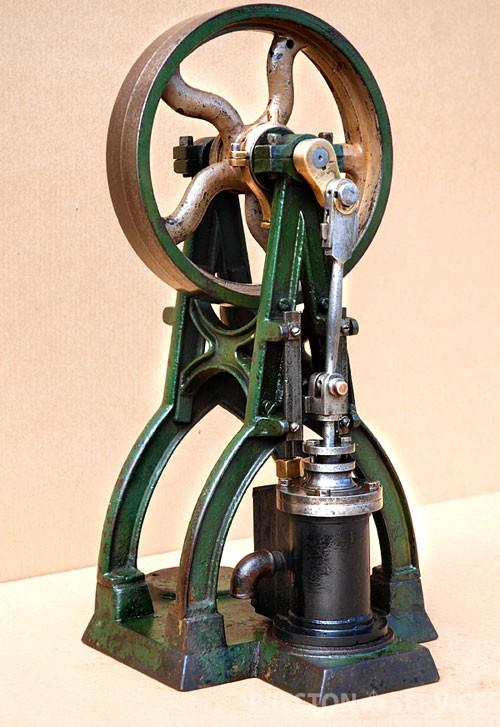 """A-FRAME ENGINE Vertical Single Cylinder 1½"""" x 2½"""""""