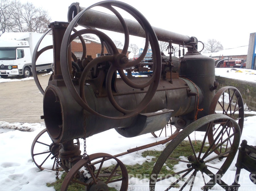 BRELOUX Portable Steam Engine