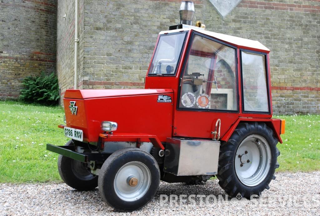 4 Inch Scale CARADOC Steam Tractor