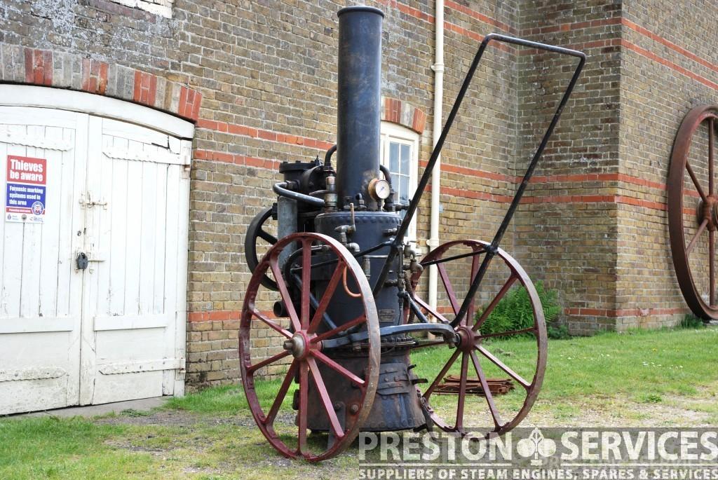 MERRYWEATHER Steam Fire Pump