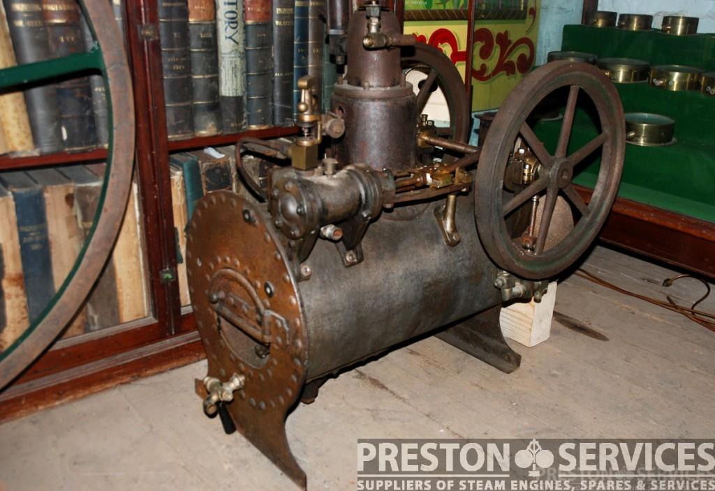 Church Organ Steam Engine