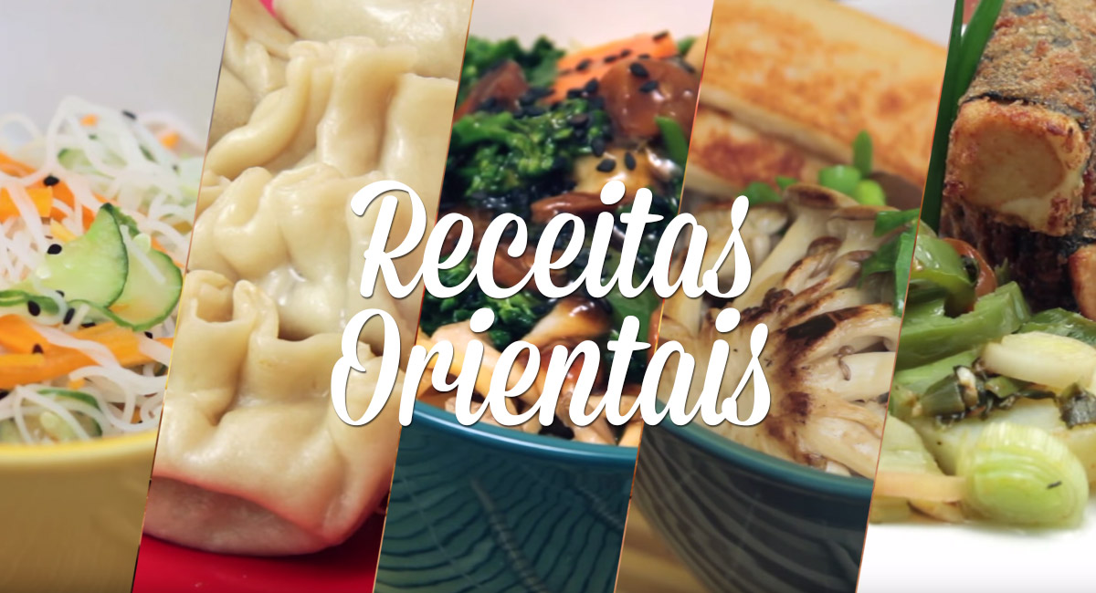 Receitas Orientais Vegetarianas
