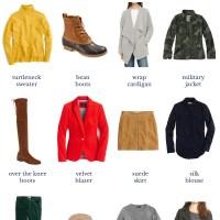 20 Fall Wardrobe Essentials.