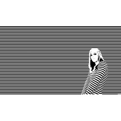 Small Crop Of Black And White Wallpaper