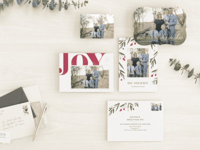 Holiday Cards with Minted!