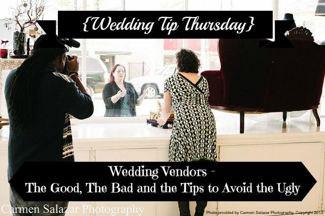 {Wedding Tip Thursday} Wedding Vendors