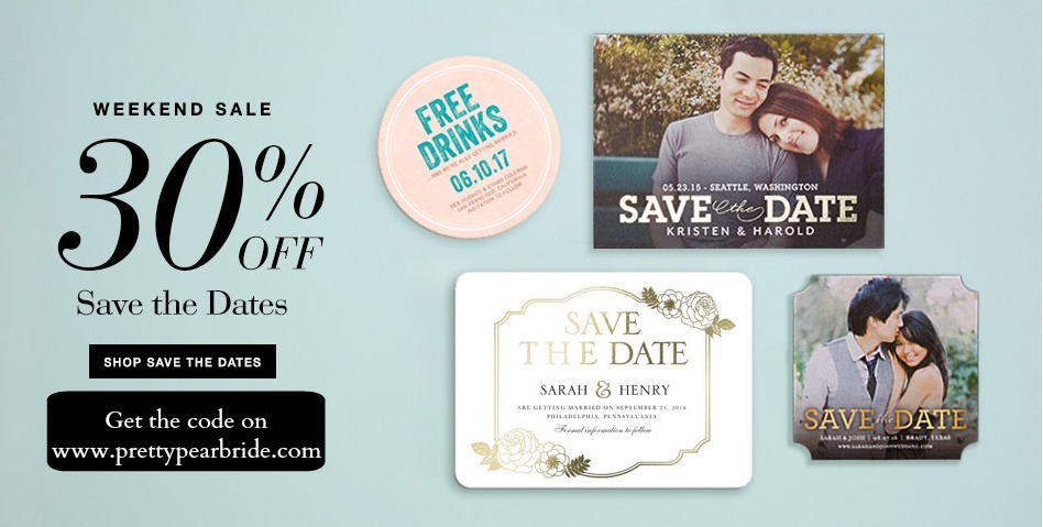 save the dates, wedding stationery