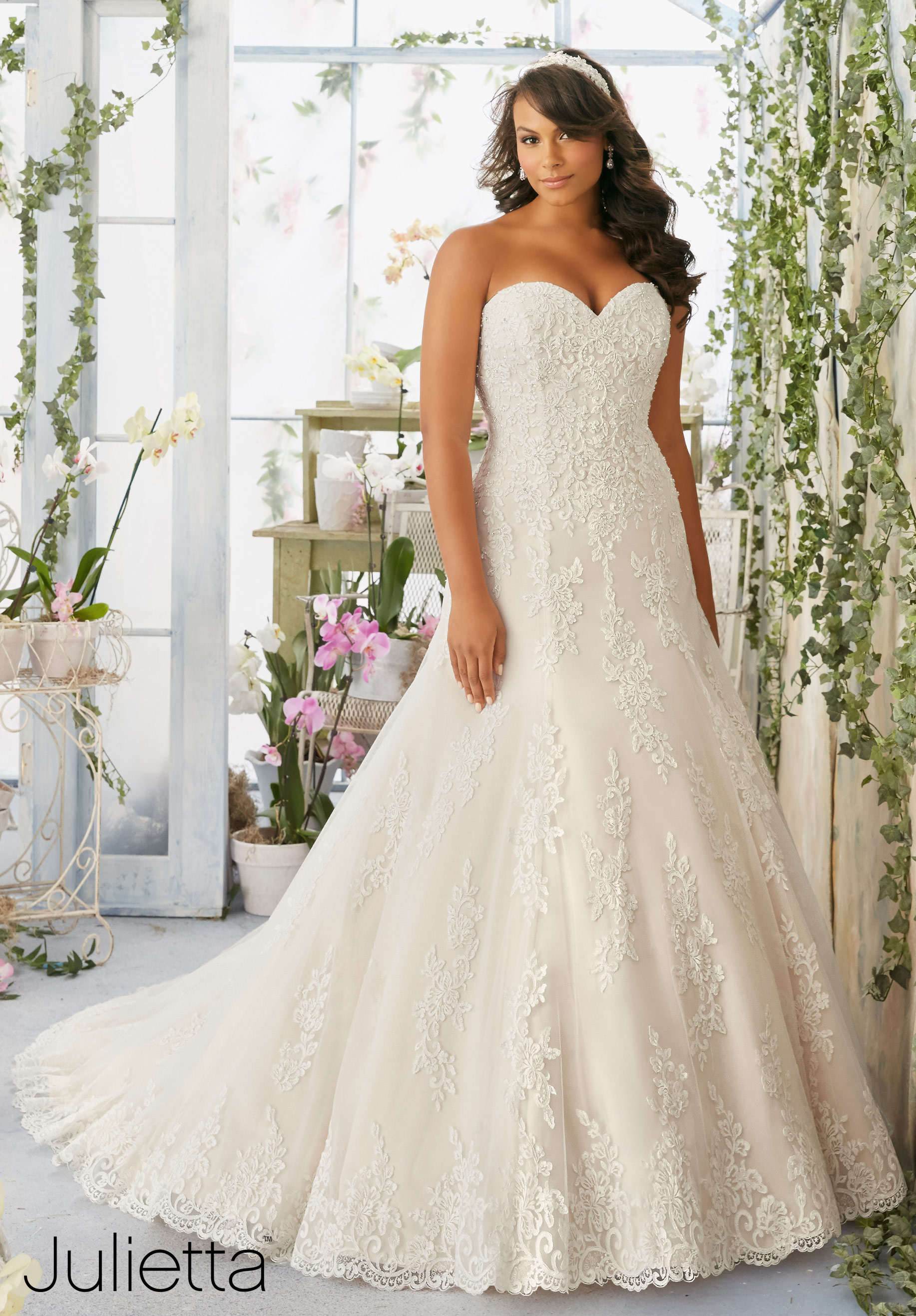 plus size wedding gowns mori lee julietta collection plus sized wedding dresses plus size bridal gown