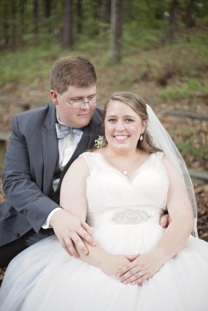 {Real Plus Size Wedding} Coral, Pink and Grey Wedding in Georgia | Blair Toombs Photography