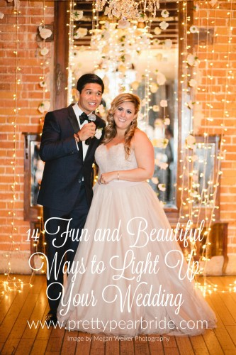 14 Fun and Beautiful Ways to Light Up Your Wedding | Pretty Pear Bride
