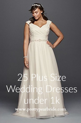 FASHION FRIDAY |24 PLUS SIZE WEDDING DRESSES UNDER 1K