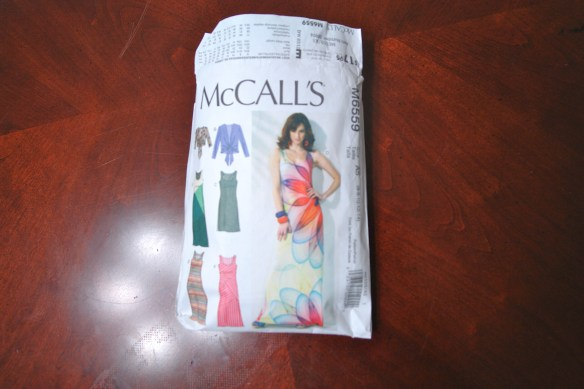 Pretty Tall Style - McCalls 6559 - DIY Maxi Dress