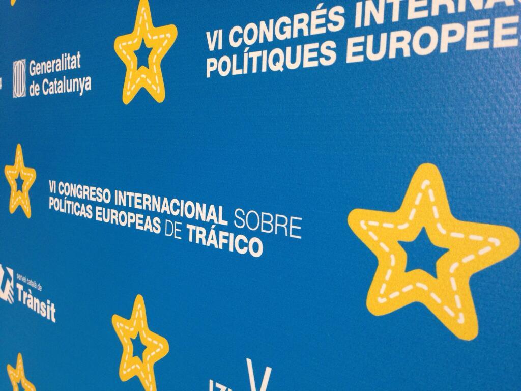 VI Congreso Internacional sobre Políticas Europeas de Tráfico.