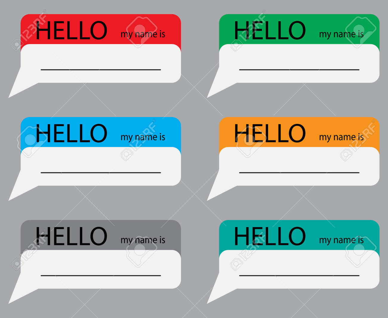 Indulging 53120876 Hello My Name Sticker Set Color Name Tag Name Card Baby Names Name Plate List Names My Name Is Id Hello My Name Is Tag Clipart Hello My Name Is Tagalog inspiration Hello My Name Is Tag