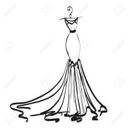 Small Crop Of Wedding Dress Clipart