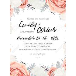 Incredible Bouquet Bouquet Floral Wedding Invitation Template Rose Miller Silver Floral Wedding Invitation Template Wedding Invitation Templates Wedding Invitation Templates Diy