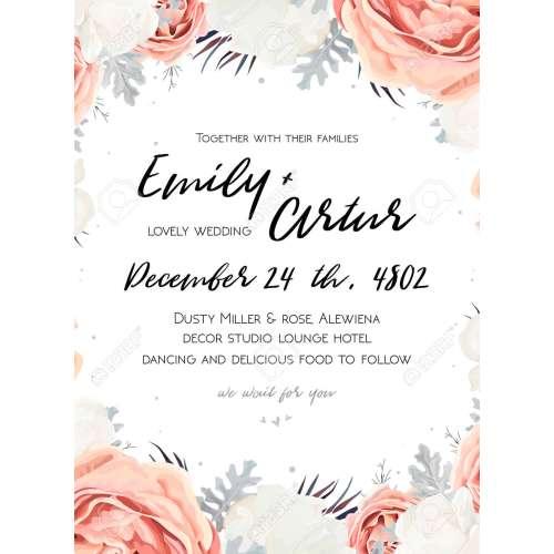 Medium Crop Of Wedding Invitation Templates