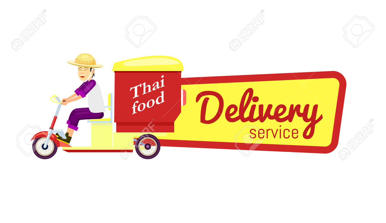 Stunning Thai Fast Food Delivery Isolated Online Order Food On Shipping Advertising Thai Fast Food Delivery Isolated Online Order Food On Fast Food Delivery Deals Fast Food Delivery Companies nice food Fast Food Delivery