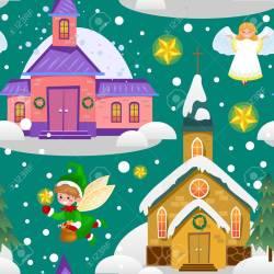 Top Green Tree Under Snow Christianity Happy New Year Card Church Usa Catholic Cards Uk 91392222 Merry Catholic W Catholic Cards Made