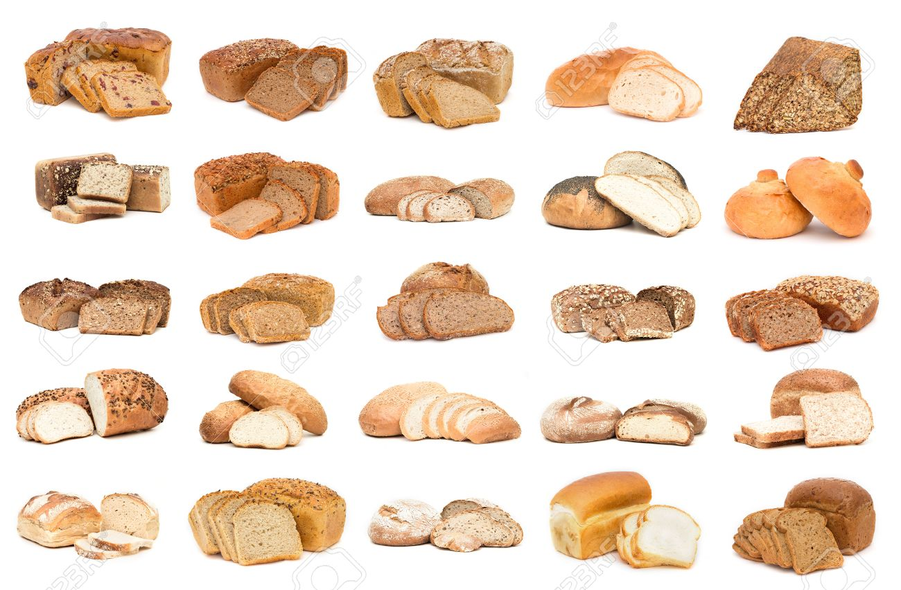 Shapely Collection Breads To Make Isolated Over Types Breads World Types Isolated Over Background Stockphoto Collection Various Types Various Types nice food Types Of Breads