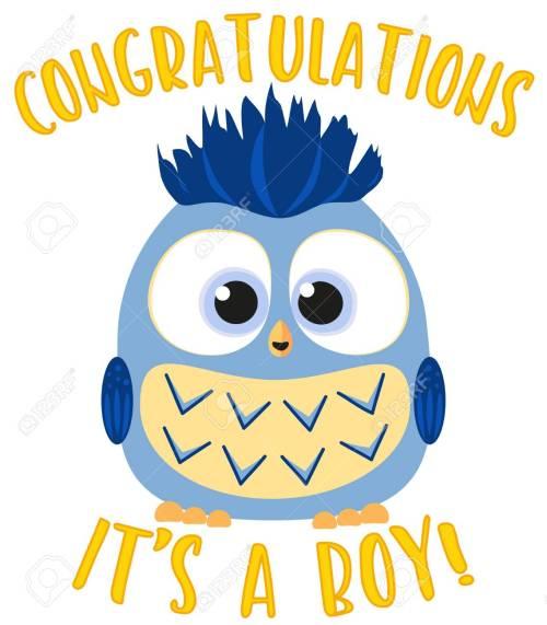Medium Of Congratulations Baby Boy