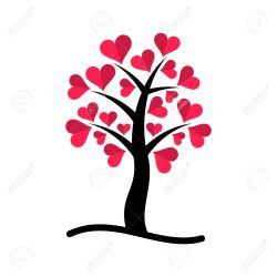 Small Crop Of Tree With Heart Shaped Leaves