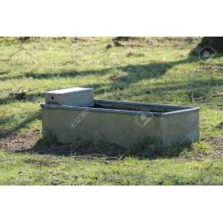 Small Crop Of Metal Water Trough