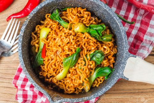 Medium Of Korean Instant Noodles
