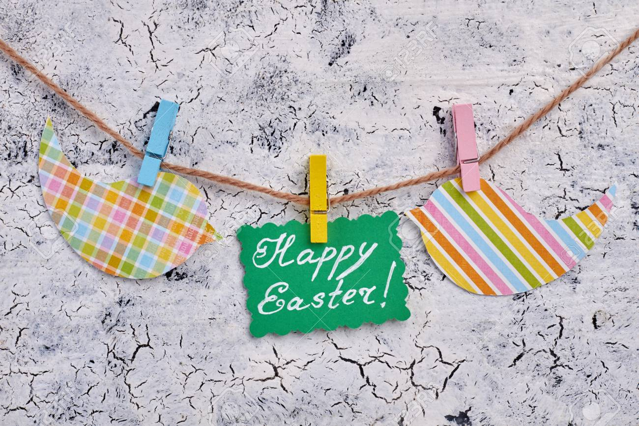 Sterling Patterned Birds Easter Greeting Card On Rope Teens Hallmark Easter Card Messages Text Easter Card Messages Message Message Easter Greeting Card On Rope Text Happyeaster cards Easter Card Messages