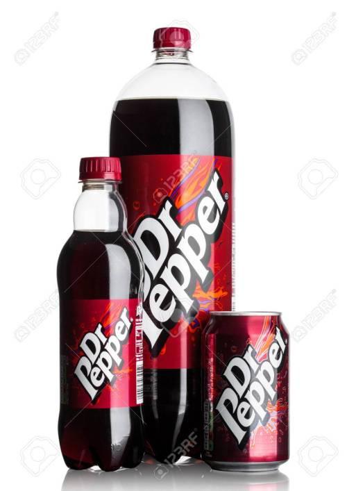 Medium Of Dr Pepper Bottle