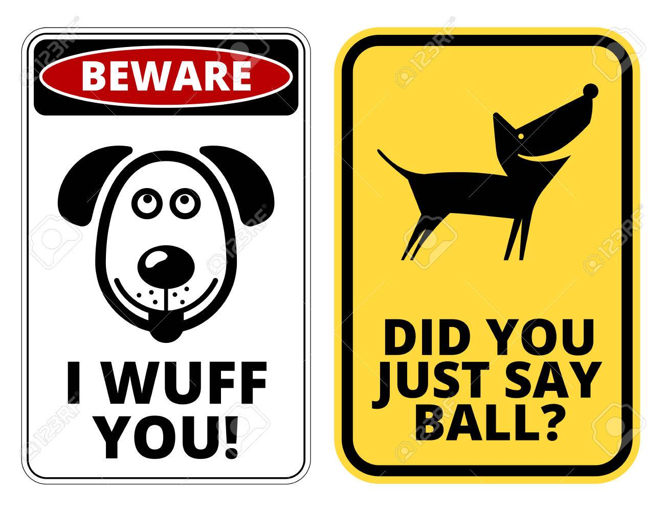 Fullsize Of Beware Of Dog Signs